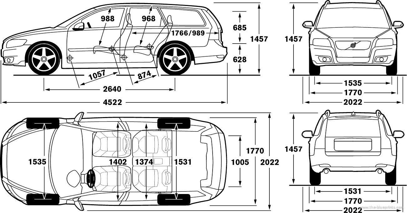 Blueprints Gt Cars Gt Volvo Gt Volvo V50 2012
