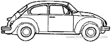 Volkswagen Beetle 1303LS (1973)