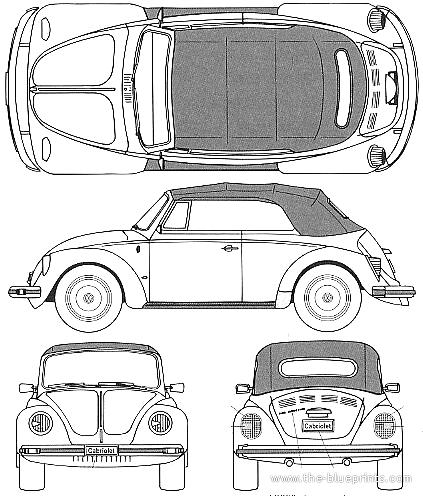 Volkswagen Beetle 1303S Cabriolet (1975)