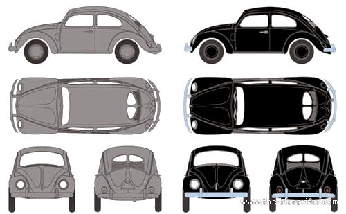 Volkswagen Beetle (1952)