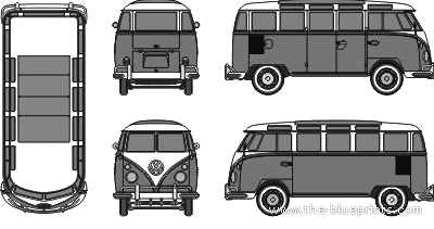 Volkswagen Typ 1 Samba Bus (1960)