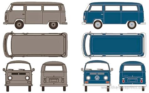 Volkswagen Type 2 (1969)