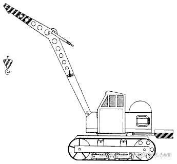 RK3 Crawler Rotary Crane