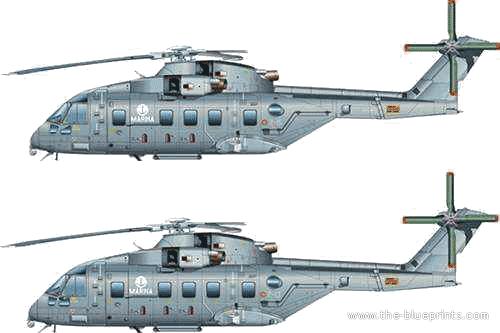 Agusta Westland AW-101 TTI