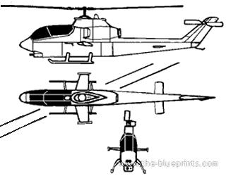 Bell 209 AH-1G Huey Cobra