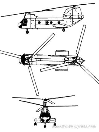 Boeing CH-46D Seaknight