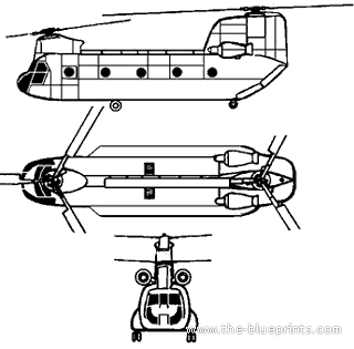 Boeing CH-47A Chinook