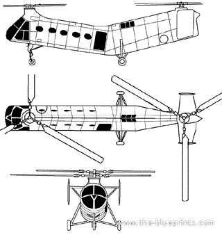 Piasecki CH-21C Shawnee