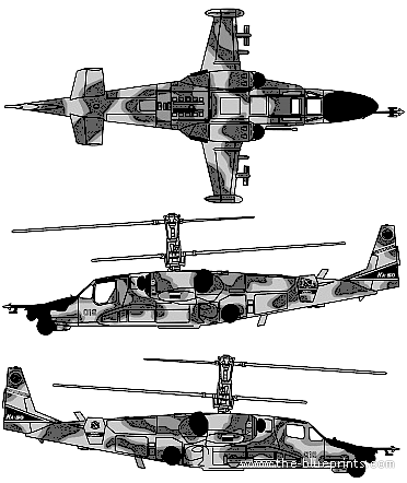 Kamov Ka-50SH Chornaya Akula (Hokum A)