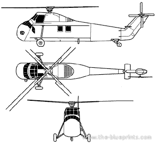 Sikorsky CH-34D Seahorse