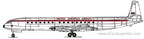 de Havilland DH-106 Comet 3B