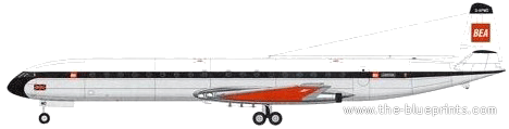 De Havilland DH-106 Comet 4B