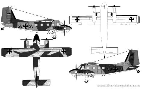 Dornier Do 28 D-2 Skyservant