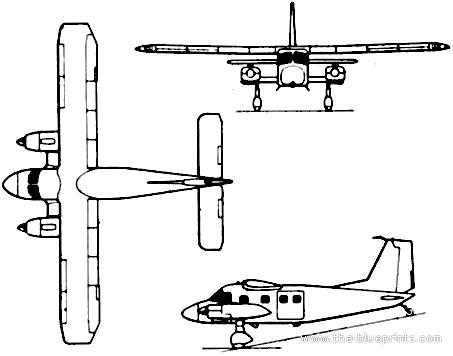 Dornier Do 28D-5 Turbo Skyservant