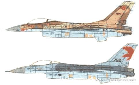 General Dynamics F-16A Barak