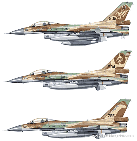 General Dynamics F-16C Barak