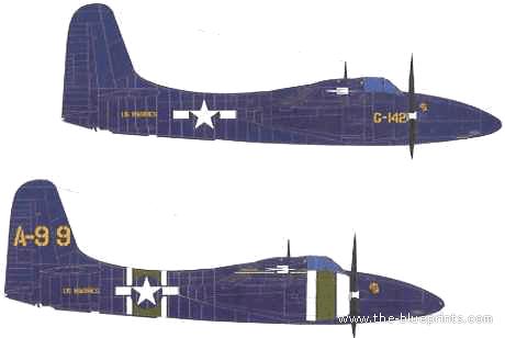 Grummam F7F-3 Tigercat