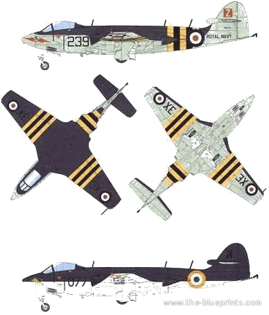 Hawker Seahawk FGA.6