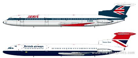 Hawker Siddeley HS121 Trident 3B