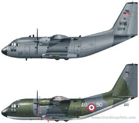 Aeritalia G-222 Panda