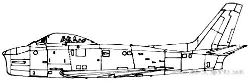 Canadair CA-27 Sabre