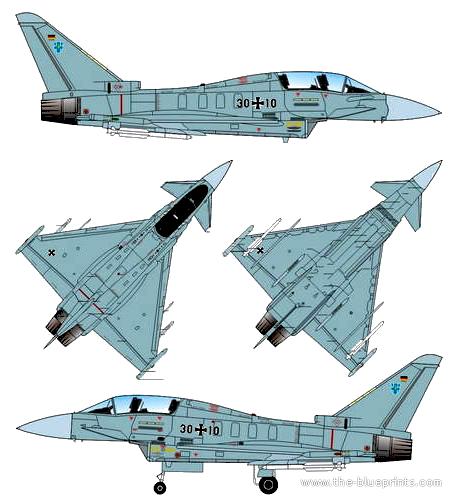 Eurofighter EF 2000 Typhoon IIB