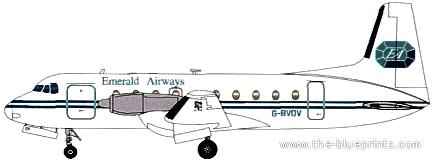 Hawker-Siddeley HS.748