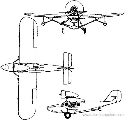 Heinkel HE 57 Heron