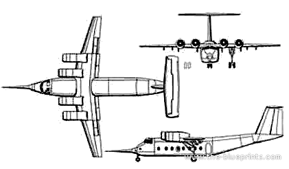 NASA -Boeing C-8A QSRA