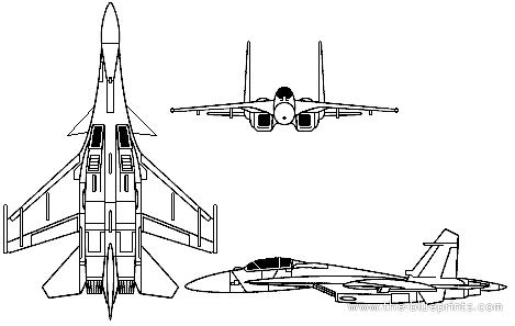 PLAAF Shenyang J-15 Flying Shark (Sukhoi Su-33)