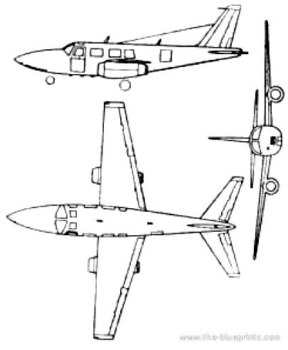 Ted Smith Aerostar 250 (Piper Aerostar)