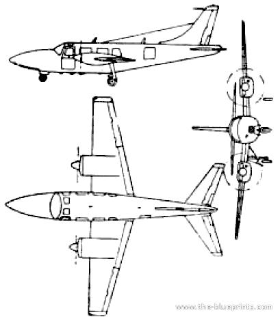 Ted Smith Aerostar 300 (Piper Aerostar)