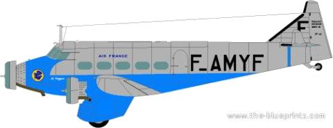 Wibault 283 - Air France