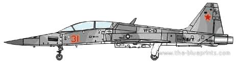 Northrop F-5F Tiger II