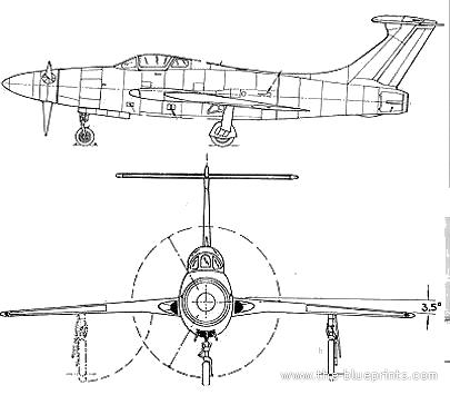 Republic XF-84H Thunder-Screech