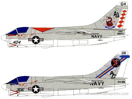 Vought A-7E Corsair II