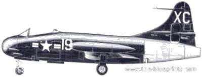 Vought F6U-1 Pirate