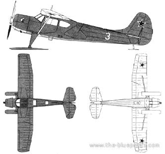 Yakovlev Yak-12M