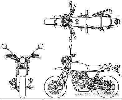 Honda Ape 100D (2010)