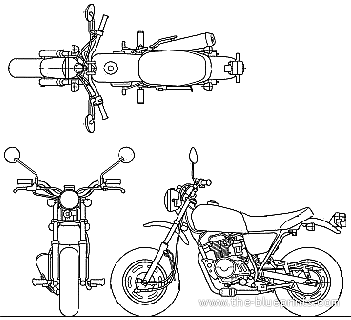 4 Stroke Atv Wiring Diagram on loncin 110 atv wiring diagram