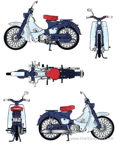 Honda C100 (1958)