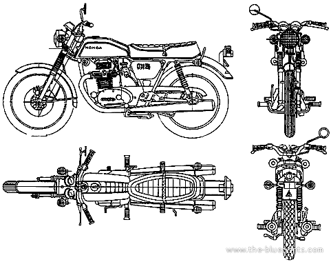 Honda CB 200 JX (1975)