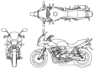 Honda CB 400 Super Bol D'Or (2013)