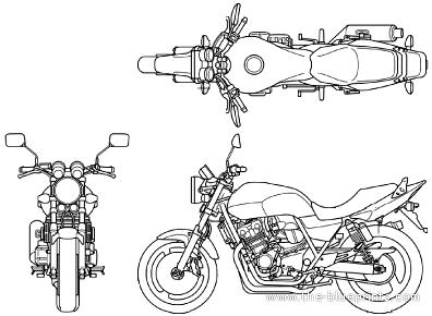 Honda CB 400 Super Four (2013)