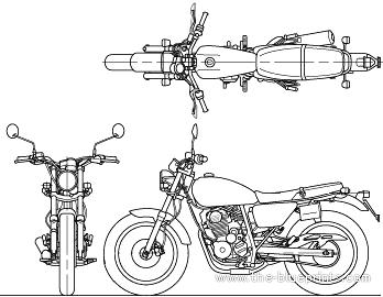 Honda CB223S (2010)