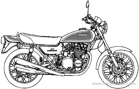 Kawasaki 750RS Z2