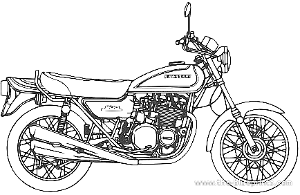 Kawasaki 900 Super 4 Z1 (1972)