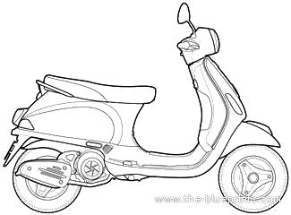 Piaggio Vespa LX 125 (2012)
