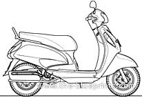 Suzuki Access 125 (2009)