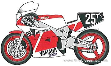 Yamaha FZR750 (1985)